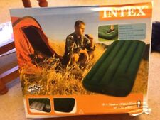 Intex Junior Airbed Single Size Downy Built In Foot Pump. Damaged Box. NEW