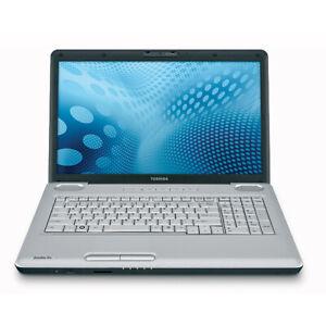 "TOSHIBA SATELLITE PRO L550 17.3"" INTEL CORE i5 4GB RAM 320GB HDD WINDOWS7 LAPTOP"