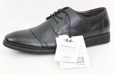 Marino Avenue Gr.45 Herren Schuhe Schnürschuhe Halbschuhe Elegant Leder Schwarz