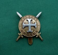 More details for welbeck college, worksop nottinghamshire genuine british military army cap badge