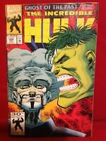 Marvel Comics 1992 #398 THE INCREDIBLE HULK Ghost of the Past Part 2 of 4 Comic