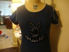 Playboy Jeans Playmate T shirt Sz L