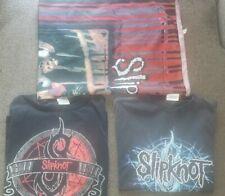 Vintage 1999 Slipknot Tapestry + 2 T-shirt Used Medium Shirts
