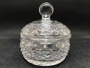 Lovely Little Waterford Crystal Lidded Bowl (Y2 388)