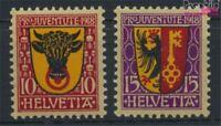 Schweiz 143-144 postfrisch 1918 Pro Juventute (9036602