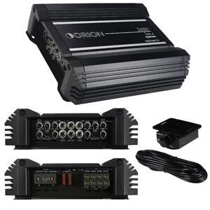Orion Xtr500.4 Xtr 4 Ch. Amplifier 2000 Watts