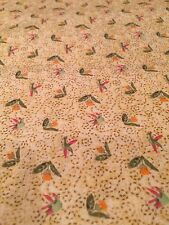 Little Yellow Floral Print~Debbie Mumm For Joann Sold By 1/2 Yard