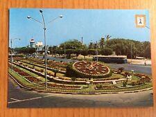 Egypt Alexandria The Flower Clock Postcard No 66