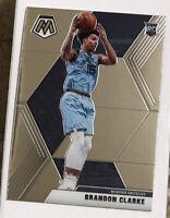 2019-20 Panini Mosaic Brandon Clarke Rookie RC Memphis Grizzlies #207 MINT! 🔥