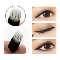 100pcs Disposable Nylon Eyeliner Wands Applicator Eyeliner Lip Liner Brushes