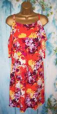 NEW LADIES GEORGE Dress Plus Size 22, Gorgeous Floral Cold shoulder Dress