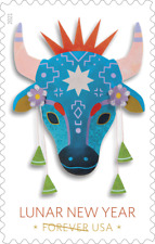 5556 Lunar New Year (Year of The Ox) Single Stamp Mnh Ships