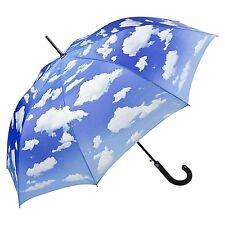 Parapluie Protection UV bleu Nuages Femme Homme blanc Bavarois Bleu ciel 5765A
