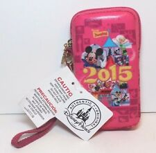 Disney Parks Mickey & Friends 2015 Padded Smartphone Case/ Wristlet NWT