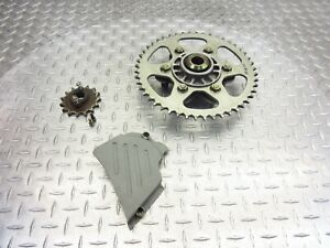 2006 02-06 Ducati Monster 620 M620 Lot Front Cover Rear Sprocket 520 48T 15T