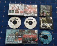 Metal Gear Solid + Special Missions( PS1) Playstation 1 Big Box games