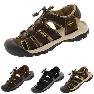 Herren Trekking-Sandalen Männer Freizeitschuhe Outdoorschuh Sommer Sneaker 6875
