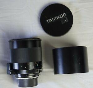 Tamron SP à miroir 1:8 500 mm adaptall 2 Nikon AI parasoleil, bouchons, housse