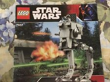 Lego 7657 Star Wars AT-ST Instruction Manual Only