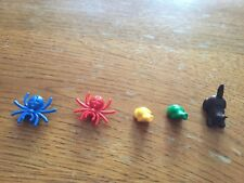 LOT LEGO 3862 HARRY POTTER MICRO FIGURINE ANIMAUX GRENOUILLE CHAT ARAIGNEE X5