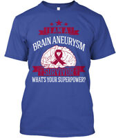 Supersoft Brain Aneurysm Awareness - I Am A Survivor Hanes Tagless Tee T-Shirt