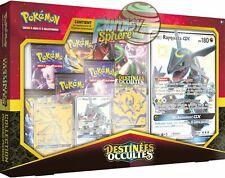 Pokemon Coffret Pouvoir Premium Destinées Occultes Rayquaza 11.5 Scellé Francais