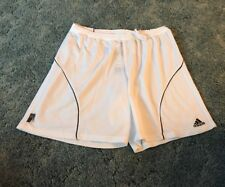 Adidas CLimalite Shorts Soccer/Football Performance 2xl White And Nwt