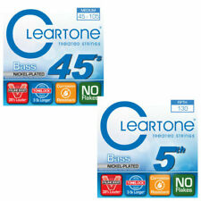 Cleartone 5-String Electric Bass Guitar Strings Set Nickel Plated Steel 45-130