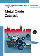 Metal Oxide Catalysis, Jackson, Hargreaves 9783527318155 Fast Free Shipping+=