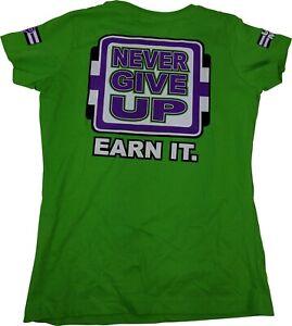 John Cena Respect Womens Green t-shirt