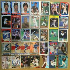 Roberto Alomar LOT of 49 rookie insert base cards NM+ HOF RC padres 1988-1999