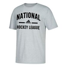 NHL NHL Adidas Kick Point Graphic Men's Grey T-Shirt