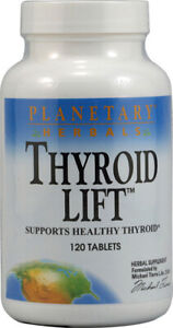 PLANETARY HERBALS - Thyroid Lift - 60 Tablets