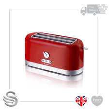 Swan ST10091REDN , 4 Slice Toaster, Variable Browning Control & Extra Long Slot