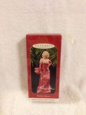 Hallmark Keepsake Ornament Marilyn Monroe 1st New Collectors Series 1997
