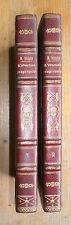 1841 de Saussure L'éducation progressive Tome 2 et Tome 3