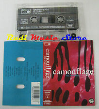 MC CAMOUFLAGE Meanwhile 1991 WEST GERMANY METRONOME 849 140-4 no cd lp dvd vhs