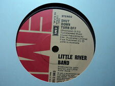"Little River Band ""Shut Down Turn Off"" Oz 7"""