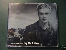 Justin Timberlake CRY ME A RIVER Euro Import 4-trk CD