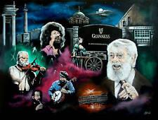 THE DUBLINERS IRELAND RONNIE DREW FOLK POSTER GUINNESS
