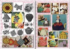 90+ Vintage TEA COZY &  POTHOLDER ~ Knitting & Crochet Patterns and more