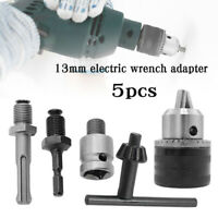 SDS-Plus Zahnkranz Bohrfutter Bohrhammer Bohrmaschinen Spann Futter Ø 1.5-13mm