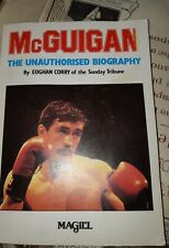 Signed Barry Mc Guigan Biography 1985