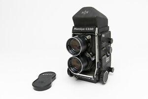 Vintage Mamiya C330 Professional S TLR w/ Blue Dot 135mm f/4.5 Sekor Lens