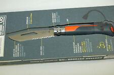 Opinel Outdoor Sea-Mountain No.08 Taschenmesser Outdoormesser orange