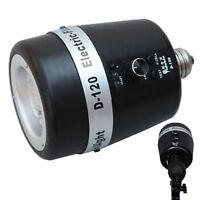 Photo Studio Strobe Flash Light Mini Slave Bulb 120WS 32GN E27 220V 110V