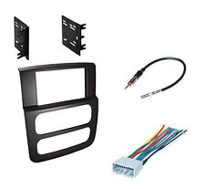 High Grade Dash Kit Dodge Ram 02-05 Double DIN Stereo Install Black Package