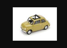 Fiat 500R Aperta 1972-75 giallo senape R474-06 1/43 Brumm made in italy