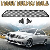 Genuine Front Bumper Center Grill MERCEDES C Class W204 AMG 2008-2011