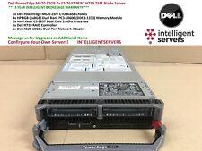 Dell PowerEdge M620 32GB 2x E5-2637 PERC H710 2SFF Blade Server